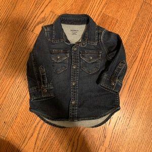 Baby gap denim shirt
